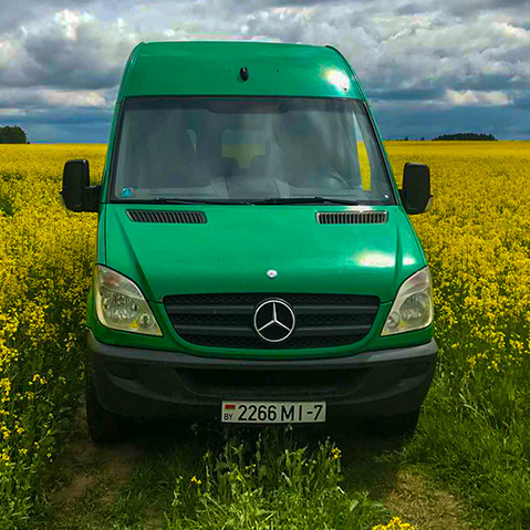 MERCEDES BENZ Sprinter (8 мест)